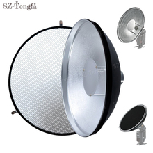 Godox AD-S3 Beauty Dish with Honeycomb Grid for Speedlite Flash AD180 AD360 AD200
