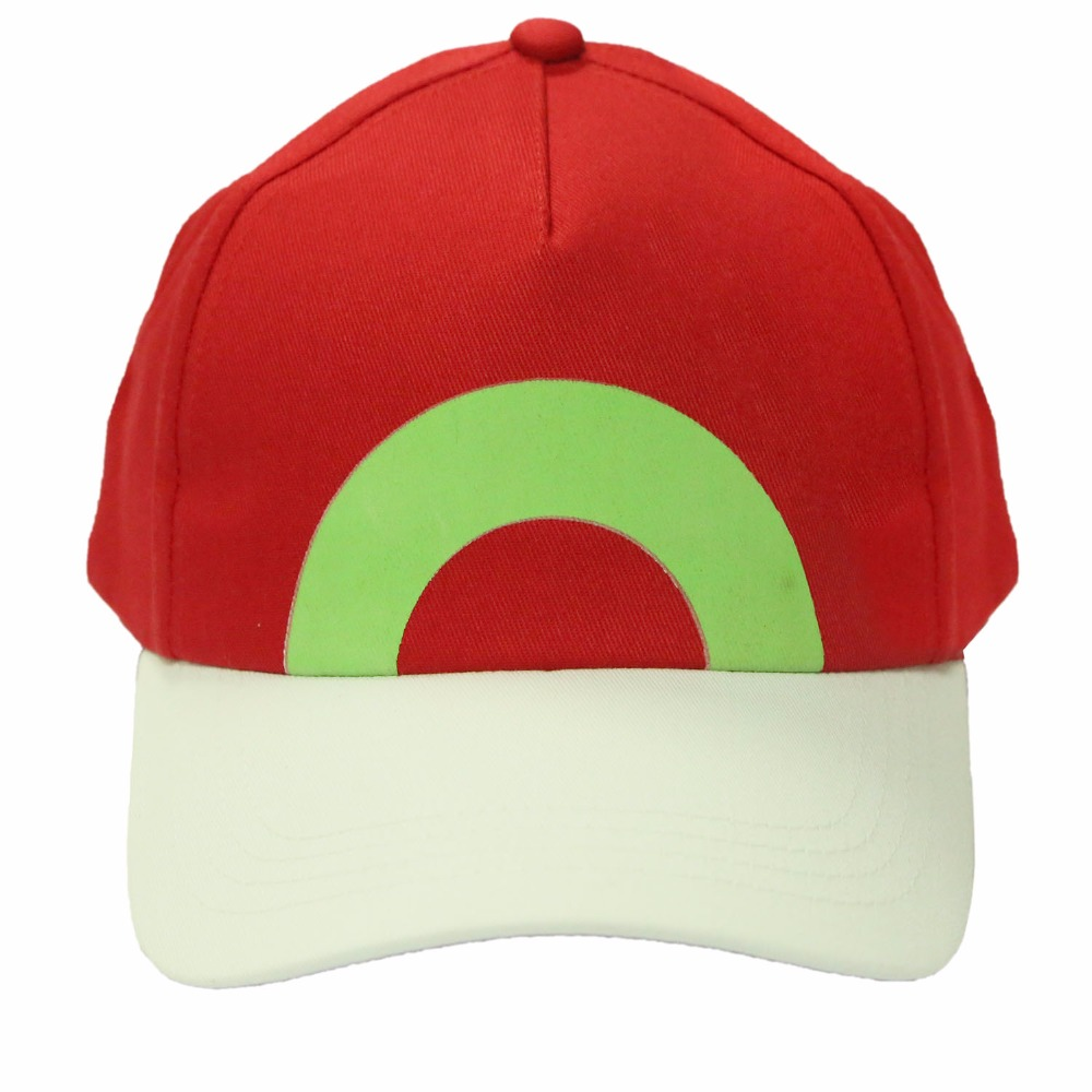 Ash Ketchum Hat Pokemon Cosplay Costume Props Adjustable Baseball Cap New Version Accessories Xcoser 2016<br><br>Aliexpress