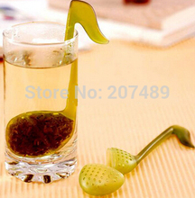 novelty Music symbol spoon with Tea Strainer Note/Tadpole /Stirrer/Spoon/Infuser,filter Wholesale(China)