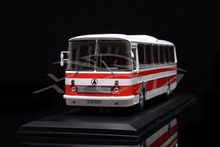 Diecast  Bus Model Soviet Union Russian LAZ-699R 1:43 (White/Red) + SMALL GIFT!!