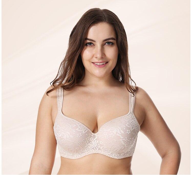 Naiseliku mustriga rinnahoidjad – suuremad suurused
