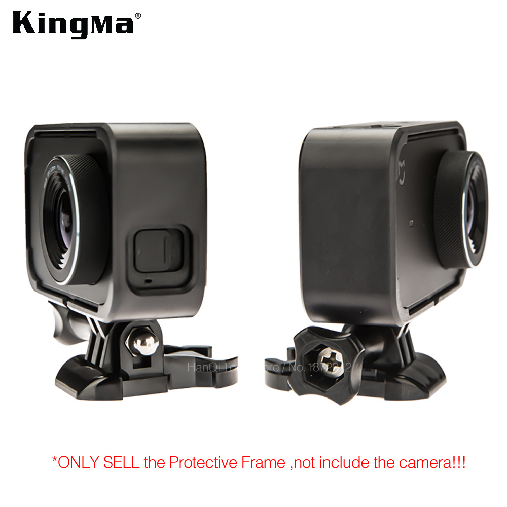 KingMa For Xiaomi Mijia 4K Mini Action Camera Frame Mount Base Screw Protective Hard Case For Mijia Mini Camera Accessories