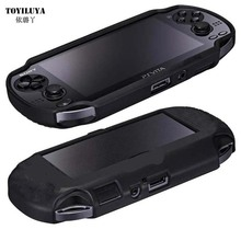Hard Carry Psv Silica gel ps vita psvita 1000 Protective Sleeve Case For Sony Psvita Game Case TPU Frame Cover