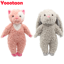 kawaii soft kids toys for children girls dolls bunny rabbit /panda/bear stuffed & plush animals baby toys hobbies classic toy(China)