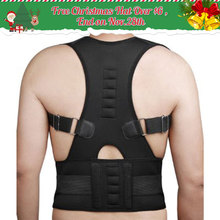 Adjustable Magnetic Therapy Posture Corrector Brace Shoulder Back Support Belt for Male Female Braces & Supports Belt(China)