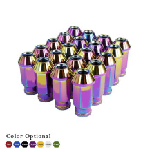 CNSPEED Aluminum Racing 20PCS Universal Wheel Lug Nuts M12X1.5 50MM For Most Universal Car Auto which Wheel Nuts Screw M12X1.5(China)