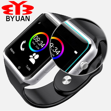 Wholesale Price A1 Smart Watch Clock Sync Notifier Support SIM TF Card Connectivity Apple for iphone Android Phone Smartwatch