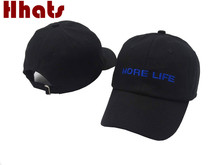 which in shower black embroidery more life dad hat women men khaki the rapper chance 3 baseball cap hip hop plain snapback hat