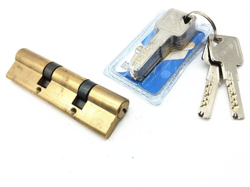 Brass  Cylinder 110 mm (31+38+41) Computer Kaba key series for High Security Door Lock<br>