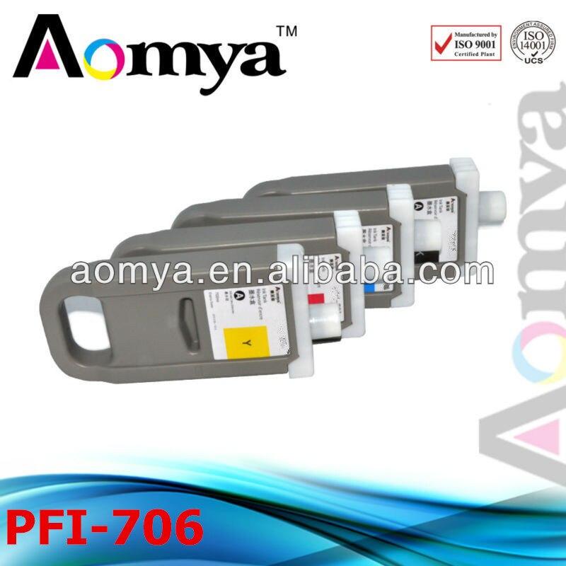 [12pcs/set] PFI-706 [Pigment Ink] wide format cartridge For Canon iPF8400 iPF8410 iPF9400 Fast Shipping Via DHL<br><br>Aliexpress