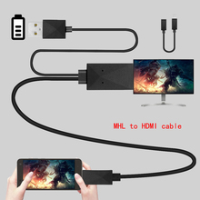 High Quality android smartphone MHL to HDMI cable HDTV Adapter For Samsung HTC SONY Huawei Xioami android with MHL function