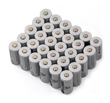 30pcs / lot 3.7V 2200mAh CR123A rechargeable lithium battery, 16340 LED Flashlight Lithium Battery(China)