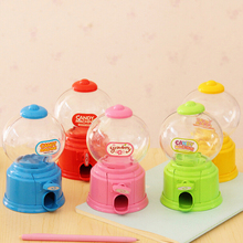 Lovely Sweets Cute Candy Machine Bubble Gumball Dispenser Coin Bank Kids Toy Children Gift