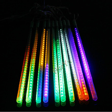 50cm SMD3528 78leds/tube 220V/110V LED snow fall,LED christmas light, waterproof raining tube, led meteor tube Freeshipping