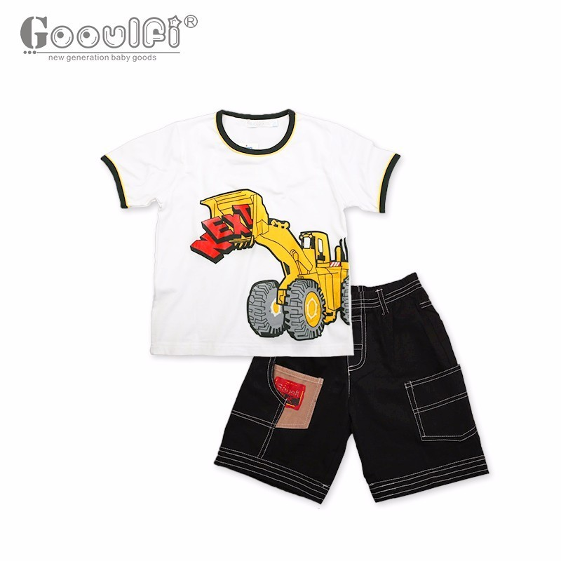 Gooulfi Newborn Baby Boy clothes Baby Boy Clothes Gentleman Newborn Toddler Infant Clothes 0-3 Month Short Clothing Set<br>