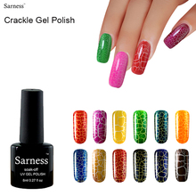 brand led lamp Crack gel Varnish professional nail art vernis semi permanent crackle UV Cheap gel nail polish soak off Manicure