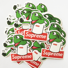 NEW 50pcs/lot The Muppet Movie Kermit the Frog Supreme DIY toy stickers waterproof phone skateboard backpack slime funny decals