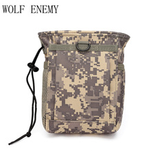 Outdoor Sport Military Tactical Airsoft Paintball Hunting Folding Mag Recovery Dump Pouch Molle Loop and Hook(China)