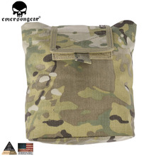 EMERSONGEAR Folding Dump Pouch Tactical Molle Magazine Pouch Airsoft Paintball Hunting Tool Drop Mag Pouch EM9041(China)