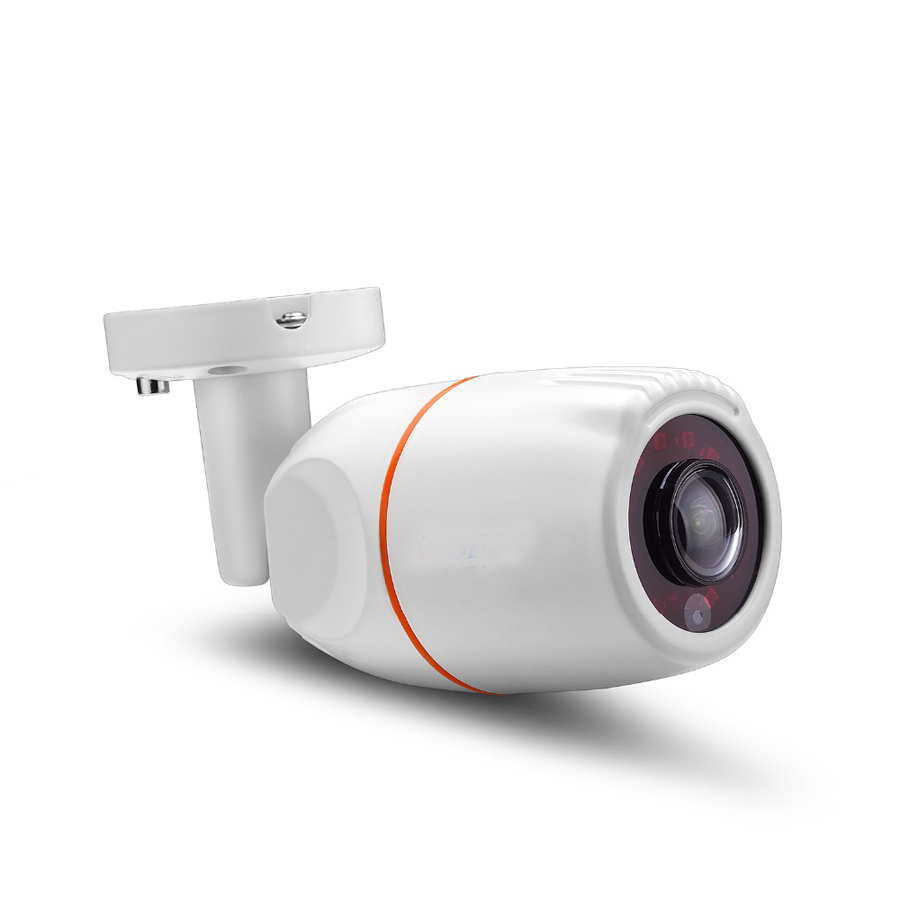 Wide Angle 1.7mm Panoramic IP Camera Outdoor Waterproof 1080P HI3516C 1/2.8 SONY IMX322<br>