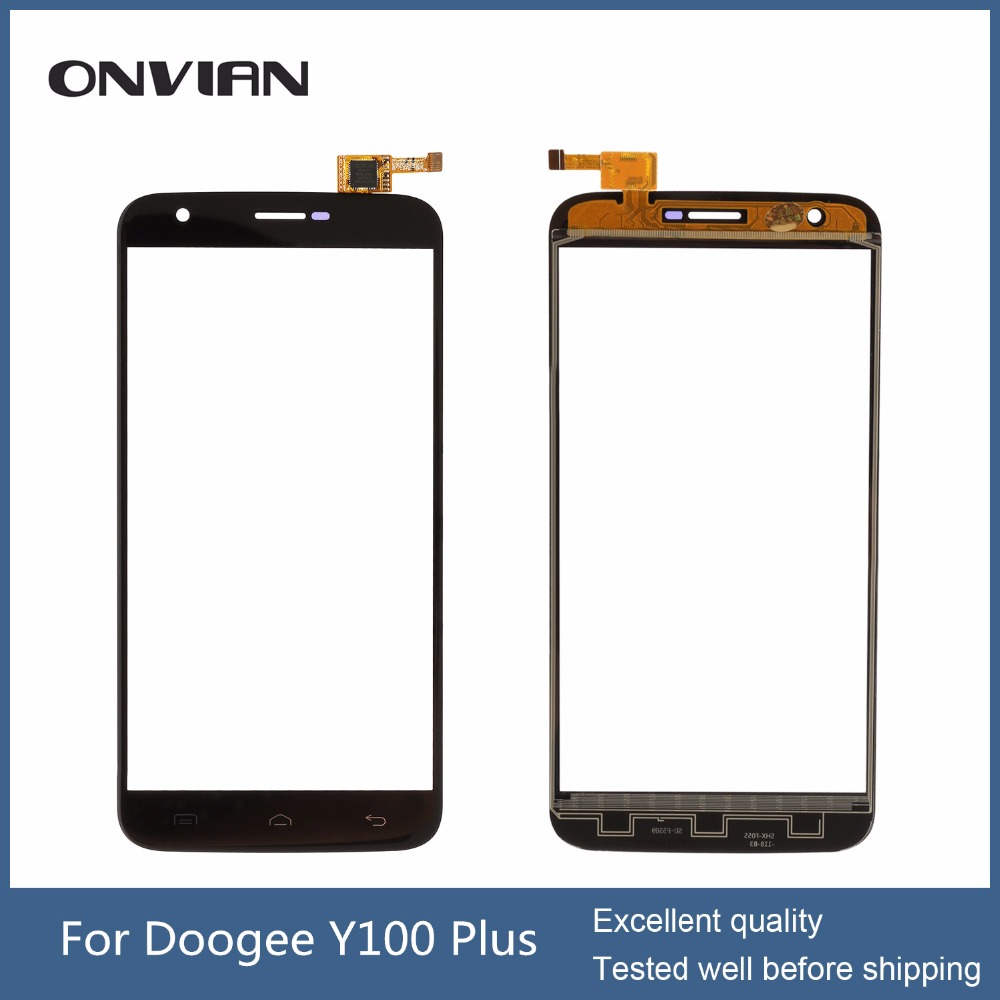 DOOGEE y100 plus touch Screen Touch Panel Glass Digitizer Sensor Replacement For 5.5 Doogee Valencia 2 Y100 Plus<br><br>Aliexpress