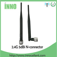 2.4GHz LTE 4G 5dBi Antenna Modem 3g 4g Aerial N Male Connector nickelplated Free shipping(China)
