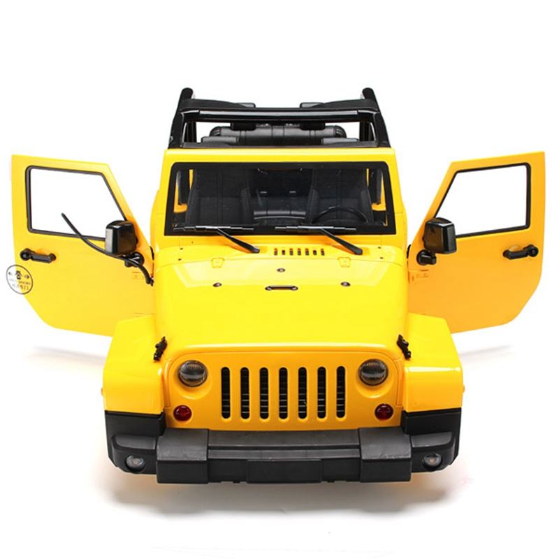 High Quality 1/10 RC Remote Control Truck Hard Body Shell Canopy Rubicon Topless For SCX10/D90<br><br>Aliexpress