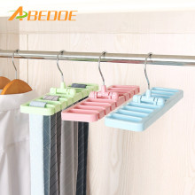 ABEDOE Storage Rack Tie Belt Organizer Rotating Ties Hanger Holder Closet Organization Wardrobe Finishing Rack Bra Belts Bag(China)