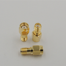 RP-SMA Male Plug switch SMA Female Jack Adapter convertor Straight Gold Plated RF Coax Coxial Connectors
