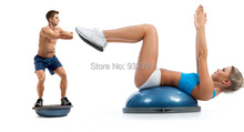 Half Balance Ball Swiss Ball Bosu Ball Yoga Fitness Equipment Resistance Band Inflator Pump