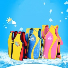 Children's Life Jacket Baby life Vest Jacket For Kids Child Swim Trainer Buoyancy Swim Vest Swimsuit Swimming Pool Accessories(China)