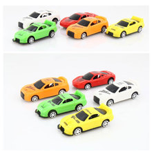 The latest creative lovely Q version of the slide mini street toys wholesale children's gift of domineering car model(China)