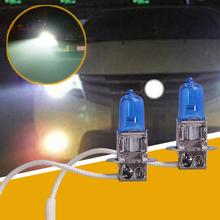 Buy Vehemo 1PC H3 12V 100W Super White Halogen Bulb FOG BEAM LAMP LIGHT XENON Halogen High Beam Headlight Fog Light Bulbs Universal for $1.22 in AliExpress store