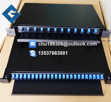 SC fiber optic cable terminal box 24 mouth lc draw frame type 12 core optical fiber distribution frame(China)