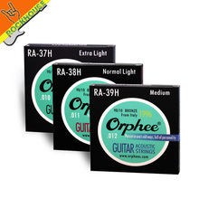 Orphee RA High-end Acoustic guitar strings folk guitarra string Hexagonal nickel alloy phosphor copper vacuum packing wholesale