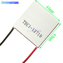 TEC1-12710 Heatsink Thermoelectric Cooler Cooling Peltier Plate Module(China)