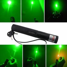 High power SDLaser-301 532nm 10000m Green Laser Pointers Lazer Military SOS burning match,camping signal lamp Hunting