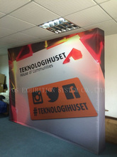10ft Velcro pop up display,Fabric Pop Up Display, Pop Up Tension Fabric Display