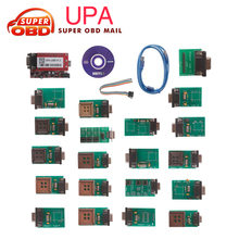 2017 Hot selling UPA-USB UPA USB UPAUSB Programmer With Full Adaptors V1.3 ECU Chip Tunning OBD2 Diagnostic Tool Free Shipping