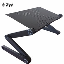 Adjustable Portable Laptop Table Stand Lap Sofa Bed Tray Computer Notebook Desk bed table Big Size ZW-CD07