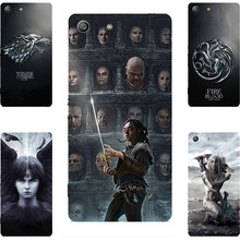 Buy Fashion GOT Game Throne House Stark Lanister Hard PC Painting Case Sony Xperia M5 E5603 E5606 E5653 Phone Printed Case for $2.17 in AliExpress store