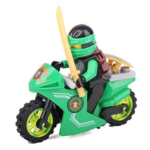 Jkela-Compatible-With-legoINGly-Ninjagoed-Mini-Blocks-Jay-Lloyd-Skylor-Zane-Pythor-Chen-Building-Blocks