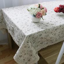 New Arrival Table Cloth Dandelion Printing Pastoral Style High Quality Lace Universal Tablecloth Decorative Table Cover Hot Sale
