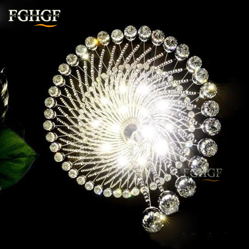 Modern Crystal Chandelier Large Size Crystal Chandeliers Spiral Lamp Long Stair Lustres Lighting Fixture for Foyer Hotel Villa (4)