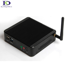 Celeron Quad Core 2.42 GHz J1900 Thin Mini PC Windows 7 2 LAN Micro Computer Box For Network Gateway Firewall Mini Server