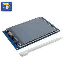 LCD 3.2 inch touch screen TFT LCD color screen module ILI9341 compatible punctuality atom(China)