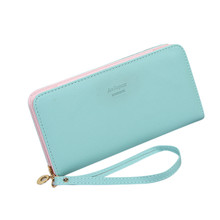 2017 New Fashion Design Women Elegant Letter Pu Leather Girls Clutch Wallet Female Long Function Purse Pocket Money Bag Jan18