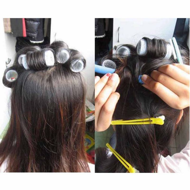 10pcs Foam DIY Styling Hair Rollers Flexible Curler Bendy Twist Curls Tool for Styling Tools