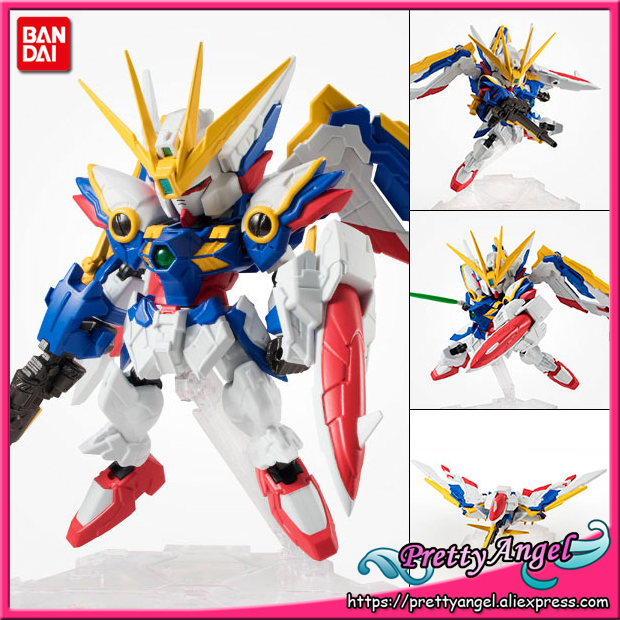 PrettyAngel - Genuine Bandai Tamashii Nations NXEDGE STYLE [MS UNIT] Gundam Wing: Endless Waltz Wing Gundam (EW Ver.) Toy Figure<br>