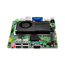 Free shipping x86 mini motherboard 1037U dual core motheboard 1.8Ghz fan embedded mini itx motherboard VGA,RS232,HD  Q1037G-P
